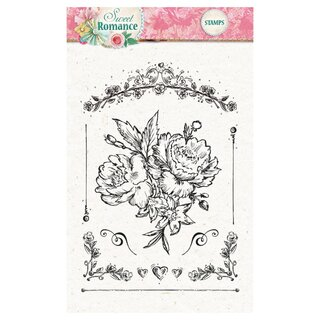 Clearstamp Sweet Romance transparent 128
